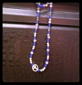 Set of necklace an bracelet